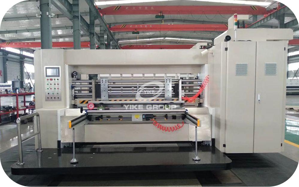 Flexo Printer Slotter Die Cutter Machine Waiting for Shipping
