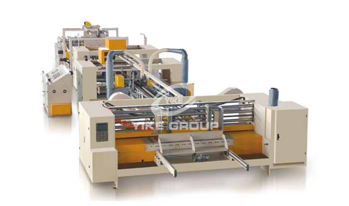Полностью автоматическая машина для сшивания и склеивания