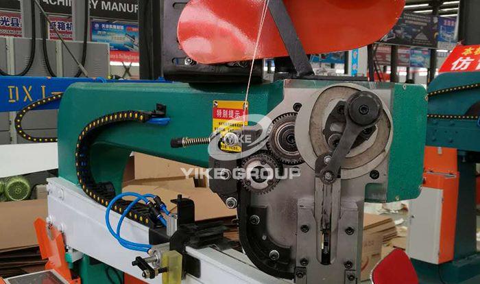 Машина для сшивания серводвигателей