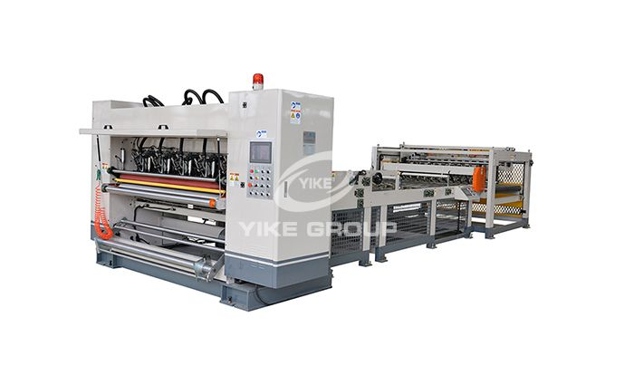 Автоматическая линия по производству гофрированного картона 2ply