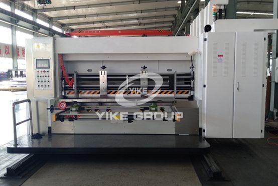 Полностью компьютерная флексографская принтерная машина для ротационной резки
