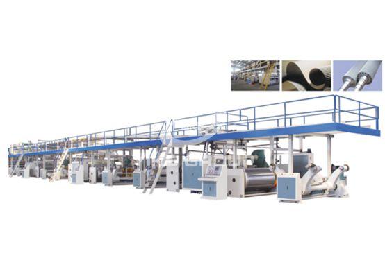 7-слойная автоматическая линия по производству гофрированного картона