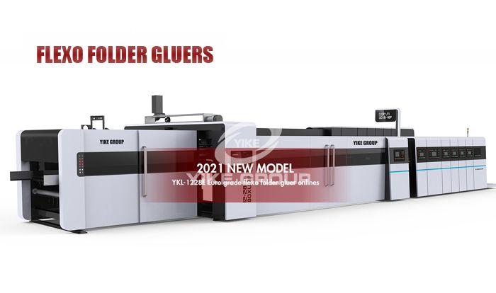 Флексографский принтер Слоттер Папка Gluer